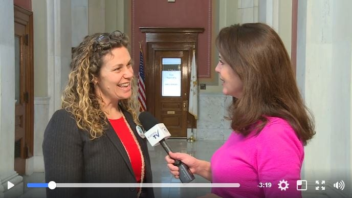 RI Rep. Tanzi in Interview with Capitol TV about HB5155