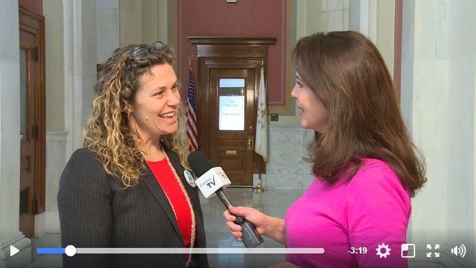 RI Rep Teresa Tanzi Talks About Domestic Violence Bill with Capitol TV