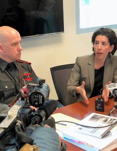 April 2018 - Gov. Raimondo's Gun Safety Working Group Convenes, RI