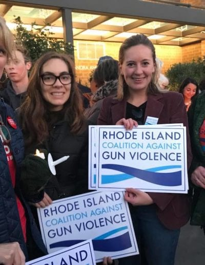 October 2018 - RICAGV at The Center for Reconciliation's panel on the Second Amendment, Providence