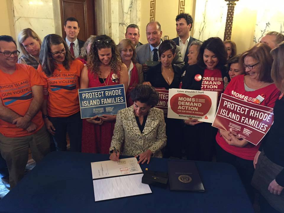 Protect RI Families Act Signed into Law by Governor Gina Raimondo October 2017 (12)