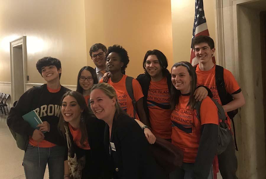 Brown Students Testify at Judicial Committee Hearings April 24 2018 (2)