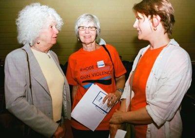 June 2018 - Lobbying for Gun Safety Reform, RI State House