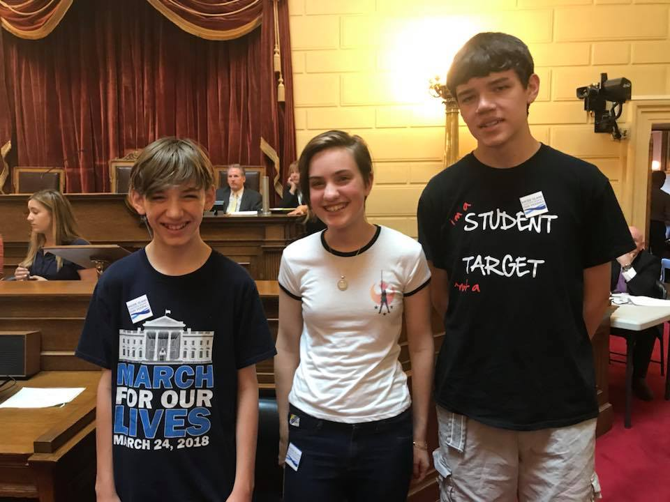 RICAGV Supporters at Lobby Day - RI State House June 19 2018 (1)