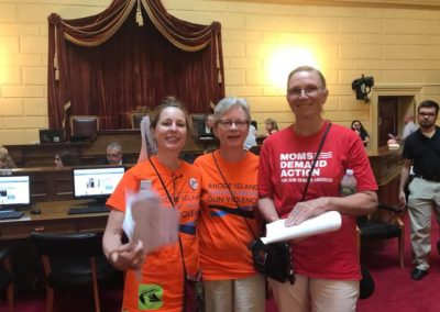 RICAGV Supporters at Lobby Day - RI State House June 19 2018 (2)