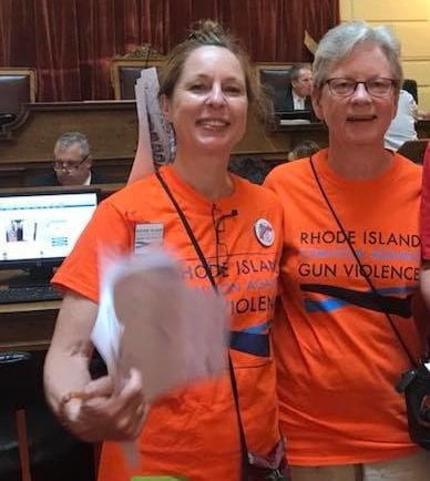 RICAGV Supporters at Lobby Day - RI State House June 19 2018