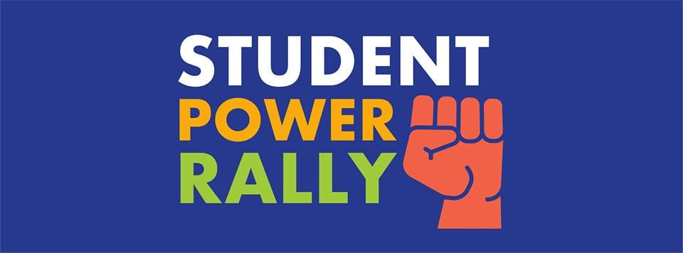 RI Student Power Rally August 2018