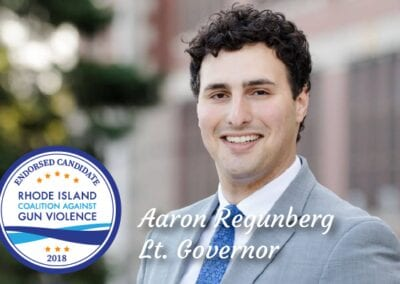 RICAGV Endorses Candidate Aaron Regunberg for Lt. Governor