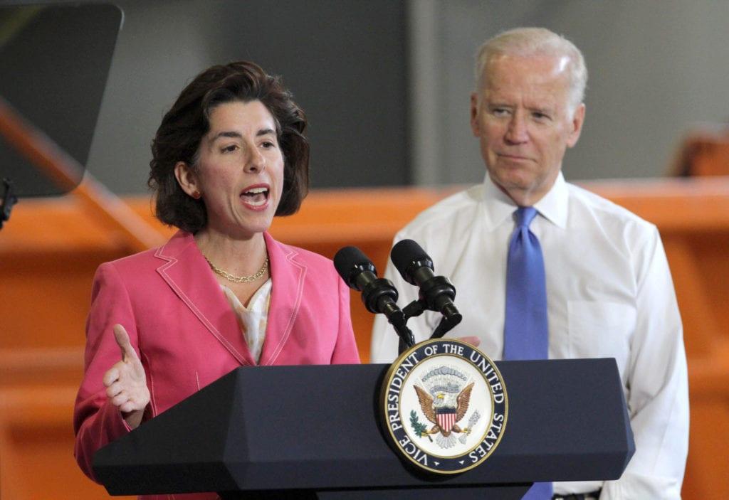 Joe Biden to Headline Rally for Gina Raimondo September 2018