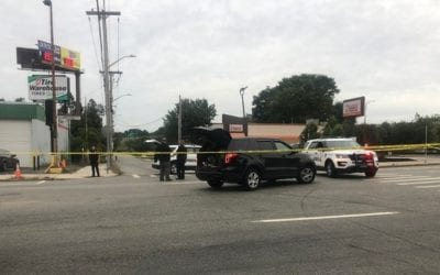 Motorcyclist Shot in Providence