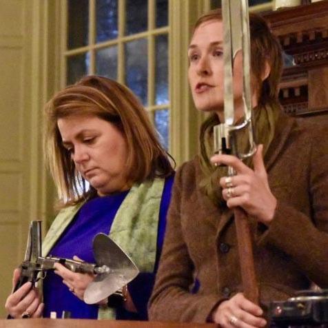 December 2018 - Conscrating Guns to Plowshare at First Unitarian Church, Providence