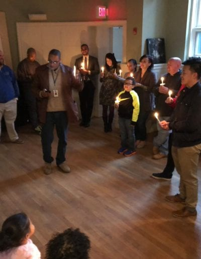January 2018 - Martin Luther King Vigil