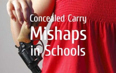 Employee with Concealed Carry Permit Forgets Loaded Gun at High School
