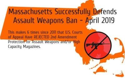 Massachusetts Upholds Assault Weapons Ban