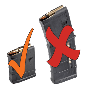 71.5 percent of RI residents support limiting magazine capacity to 10 rounds