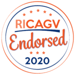 RICAGV Endorsement Badge 2020