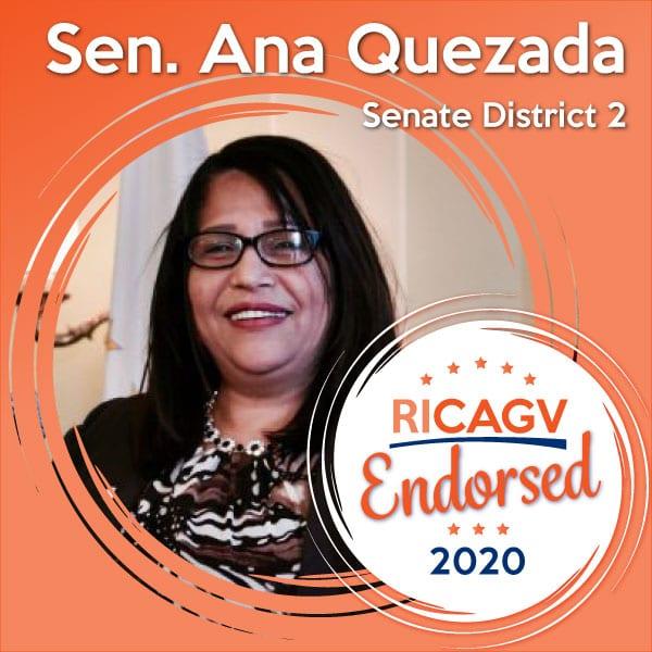 RICAGV endorses Sen. Ana Quezada