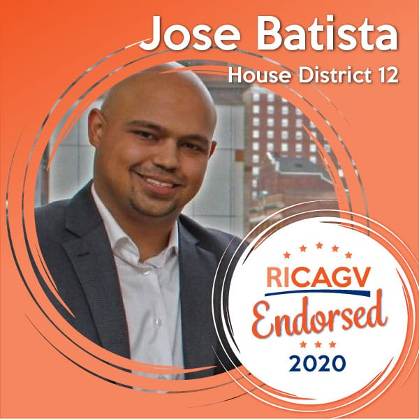 RICAGV endorses Jose Batista 2020