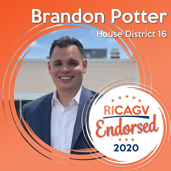 RICAGV endorses Brandon Potter