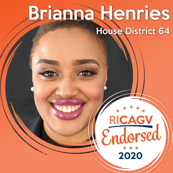 RICAGV endorses Brianna Henries