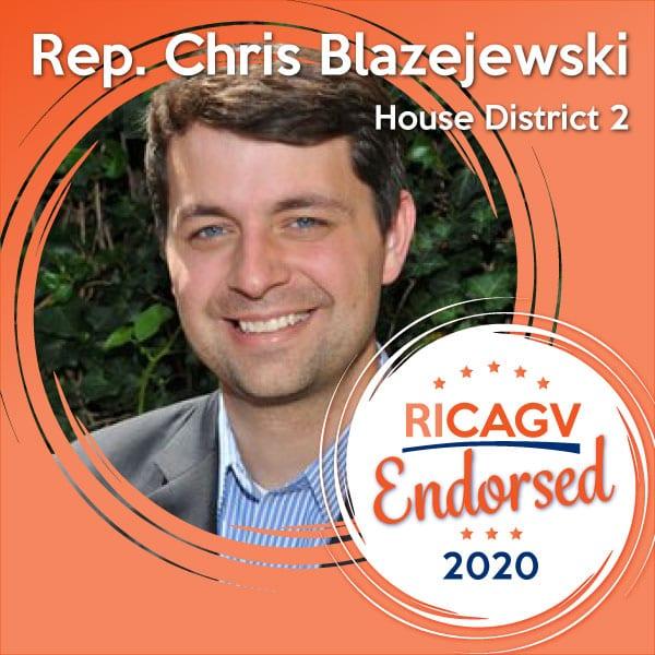 RICAGV endorses Chris Blazejewski