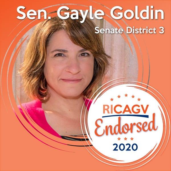 RICAGV endorses Gayle Goldin