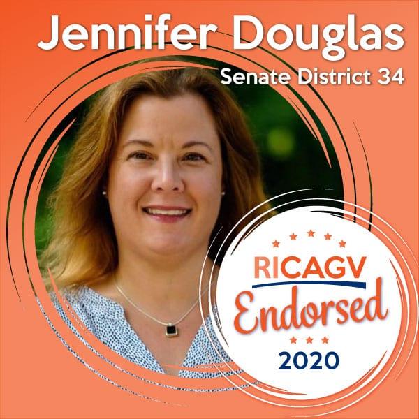 RICAGV endorses Jennifer Douglas