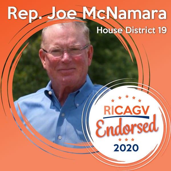 RICAGV endorses Joe McNamara