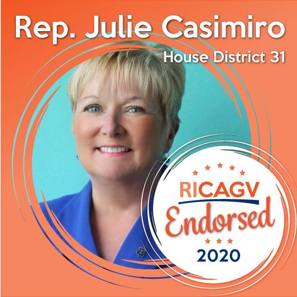 RICAGV endorses Julie Casimiro