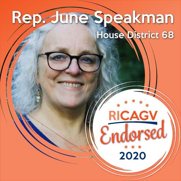RICAGV endorses June Speakman