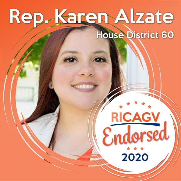 RICAGV endorses Karen Alzate