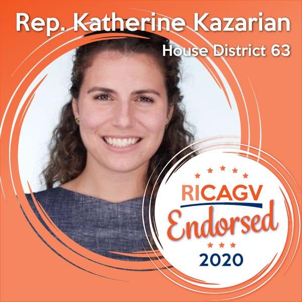RICAGV endorses Katherine Kazarian