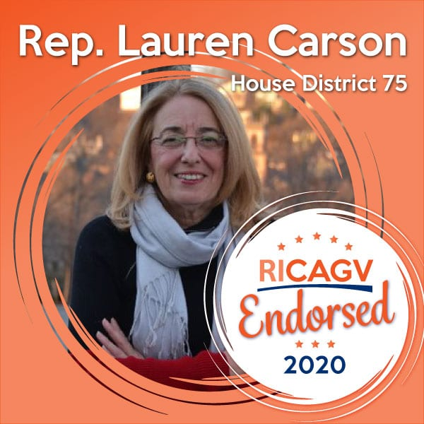 RICAGV endorses Lauren Carson