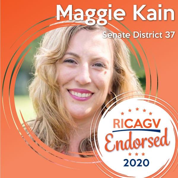 RICAGV Endorses Maggie Kain