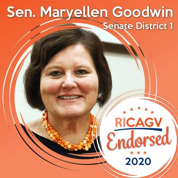 RICAGV Endorses Maryellen Goodwin 2020