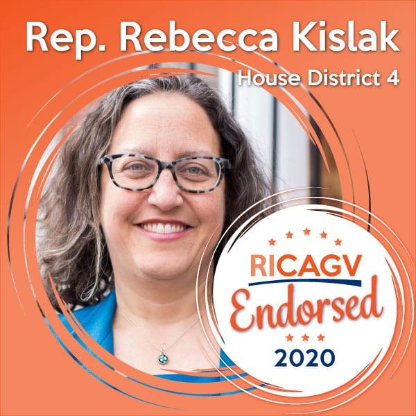RICAGV endorses Rebecca Kislak