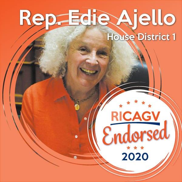 RICAGV endorses Edie Ajello