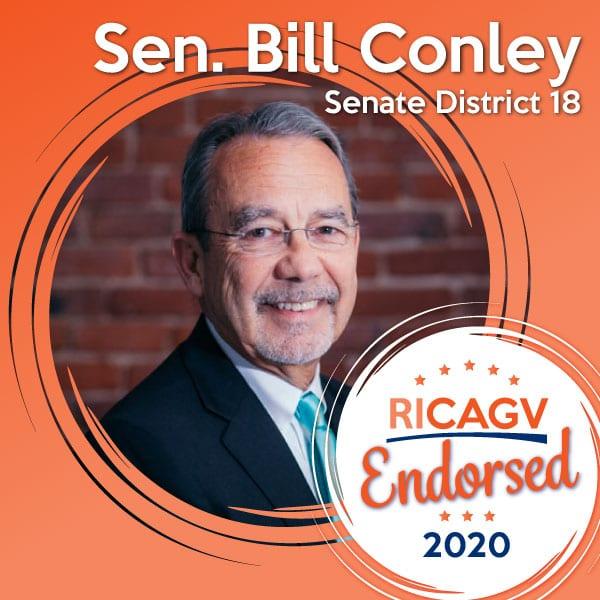 RICAGV Endorses Bill Conley