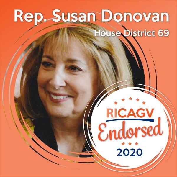 RICAGV endorses Susan Donovan