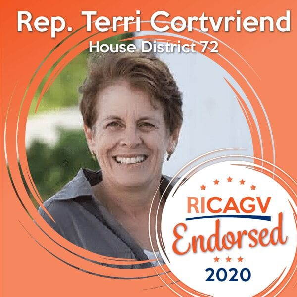 RICAGV Endorses Terri Cortvriend 2020