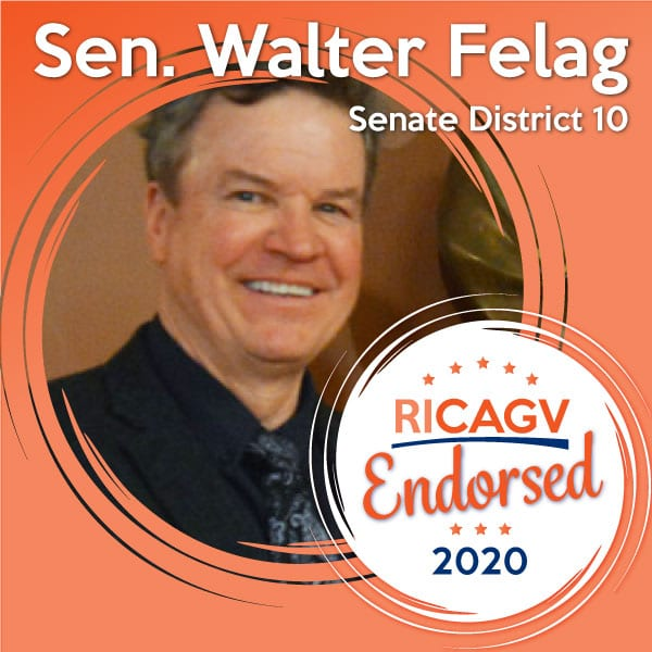 RICAGV endorses Walter Felag
