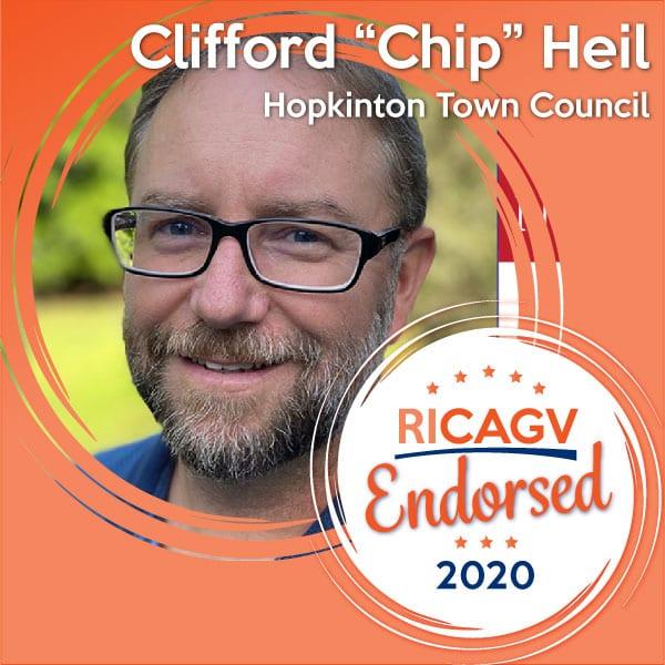 RICAGV endorses Chip Heil for Hopkinton Town Council