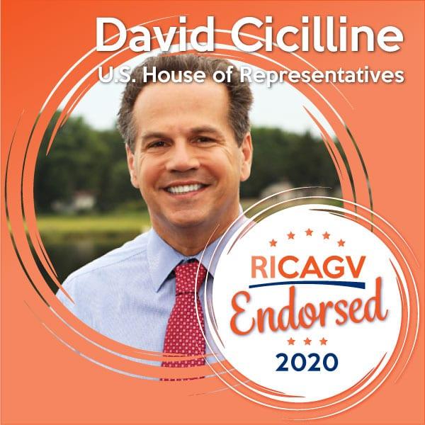 RICAGV endorses Congressman David Cicilline