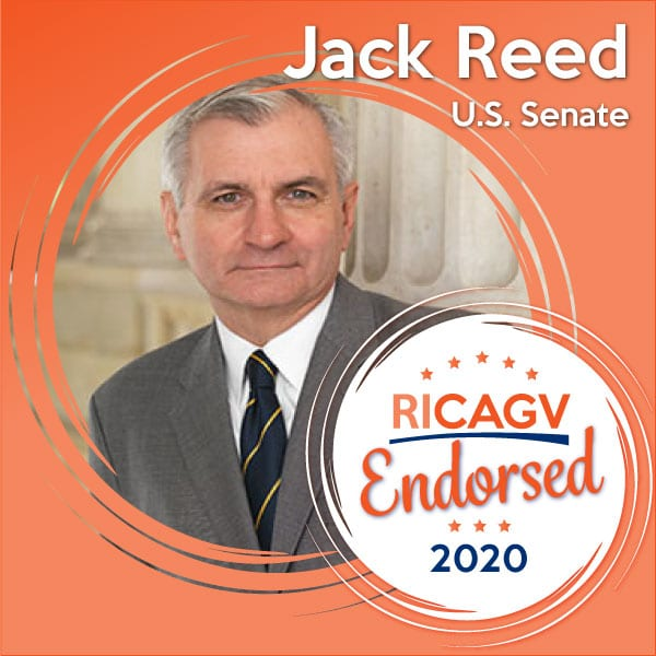 RICAGV endorses Senator Jack Reed