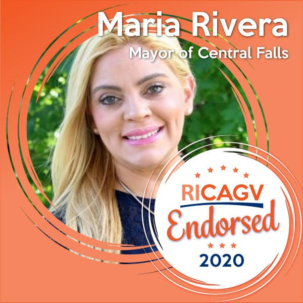 RICAGV endorses Maria Rivera for Mayor of Central Falls