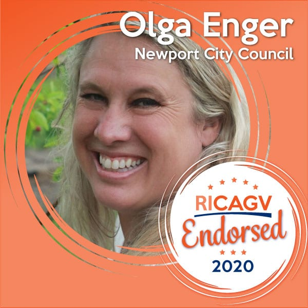 RICAGV endorses Olga Enger for Newport City Council