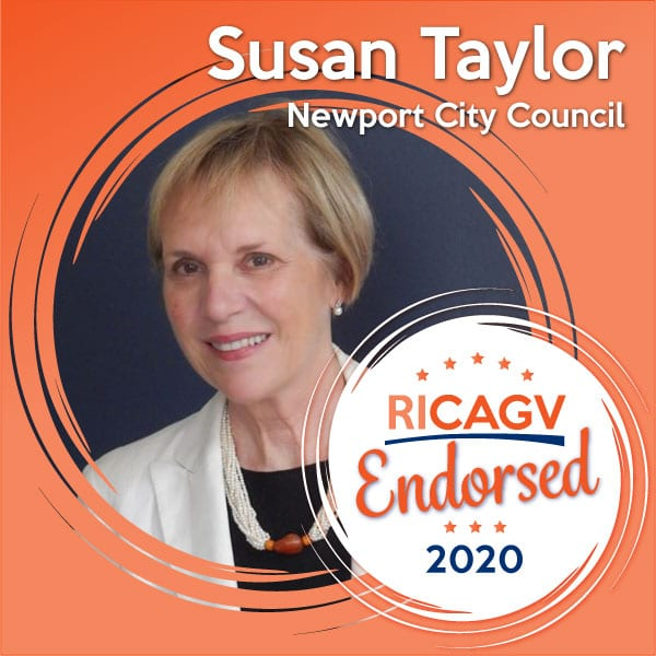 RICAGV endorses Susan Taylor for Newport City Council