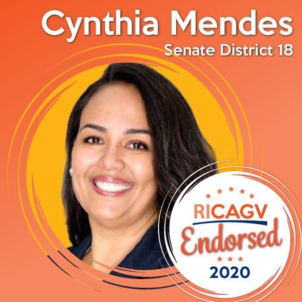 RICAGV Endorses Cynthia Mendes