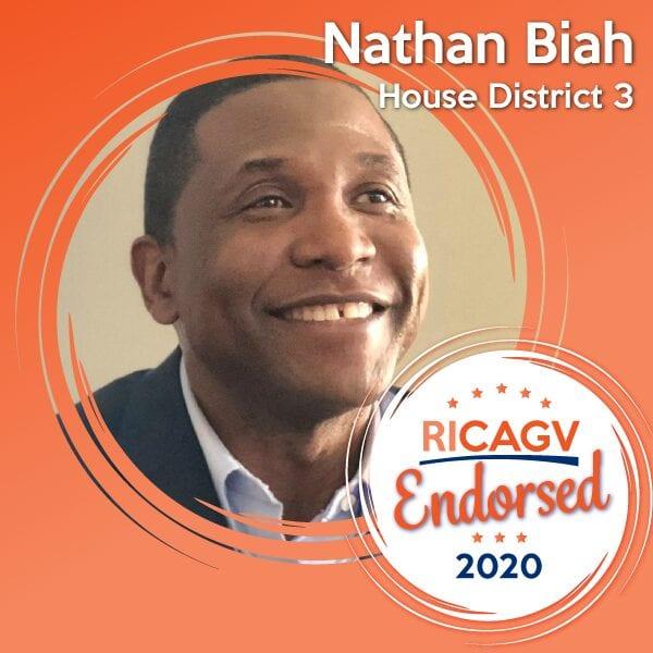 RICAGV Endorses Nathan Biah
