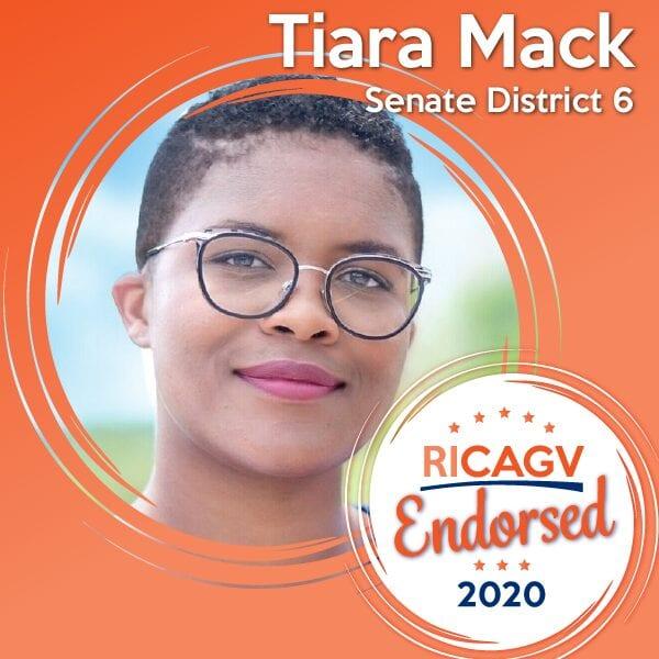 RICAGV Endorses Tiara Mack